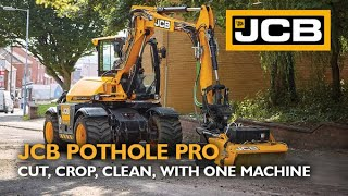 JCB Pothole Pro - Cut, Crop, Clean, With One Machine