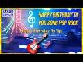 Gambar cover Happy Birthday Song ❤️ short Birthday Wishes Pop-Rock Lyrics for adult friends