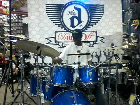 Anthony Burns at Guitar Center Drum Off- Chicago