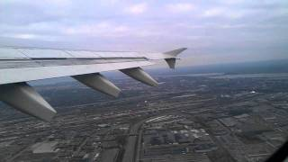 Décollage Avion Nantes / Toronto
