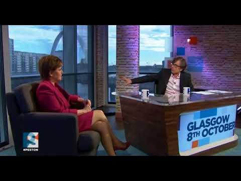 Nicola Sturgeon's interview on Peston