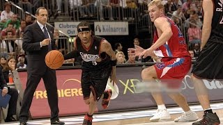 Philadelphia 76ers vs CSKA Moscow 2006 NBA Europe Live Tour FULL GAME English