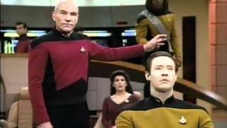Repeat youtube video Worf gets DENIED again and again on Star Trek TNG.
