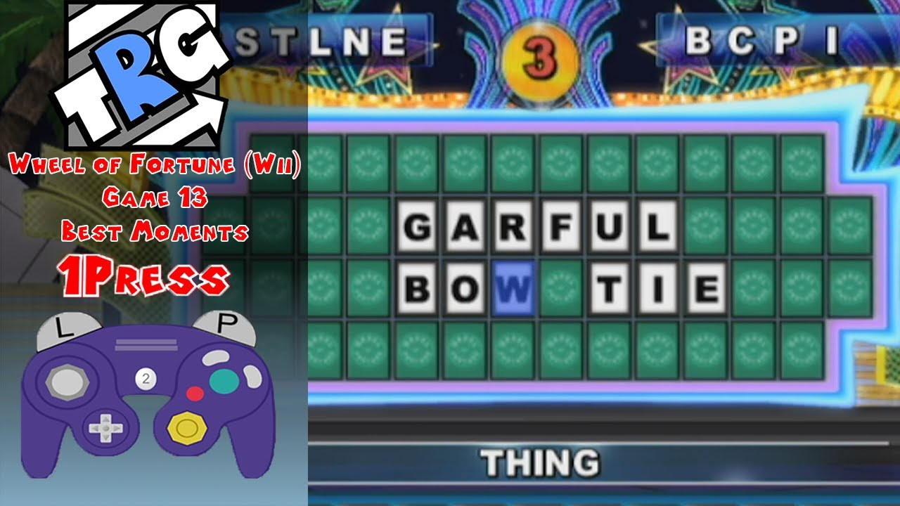 TheRunawayGuys - Wheel Of Fortune (Wii) - Game 13 Best Moments