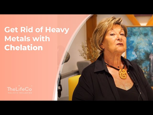 Get Rid Of Heavy Metals With Chelation