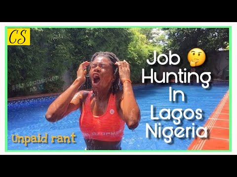 JOB HUNTING In Lagos, Nigeria || Unemployed? GET A JOB!