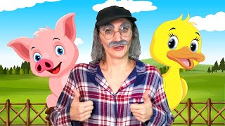 Old MacDonald Finger Family Song | Nursery Rhymes and Kids Songs