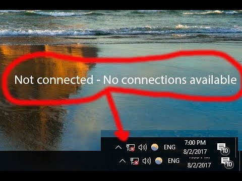 Image result for no connections available windows 10