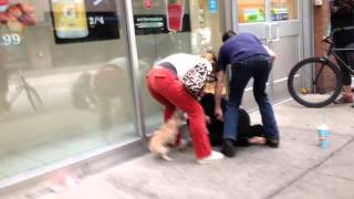 Homeless woman steals dog - gets what