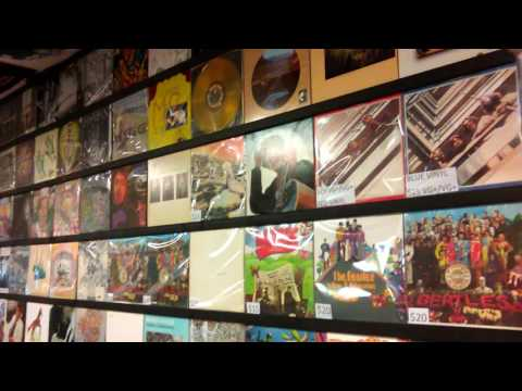 Record World Record Shop short store tour #1