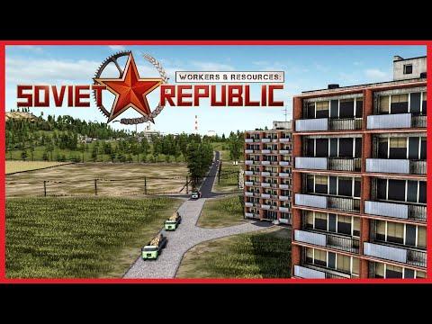 Workers & Resources: Soviet Republic | #12 | Жилой массив Шадринск