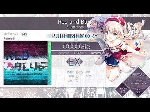 [Arcaea] Red And Blue (Mirror+Color Reverse) FPM 10'000'816pts (MAX -29)