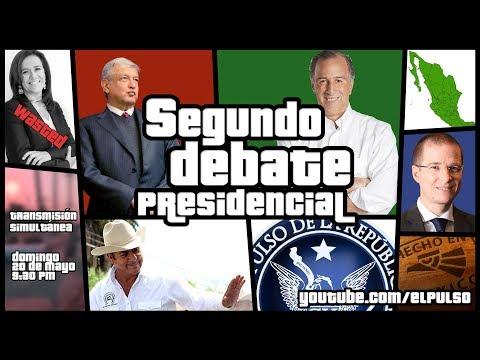 EL DEBATE PRESIDENCIAL #2 - EL PULSO DE LA REPÚBLICA