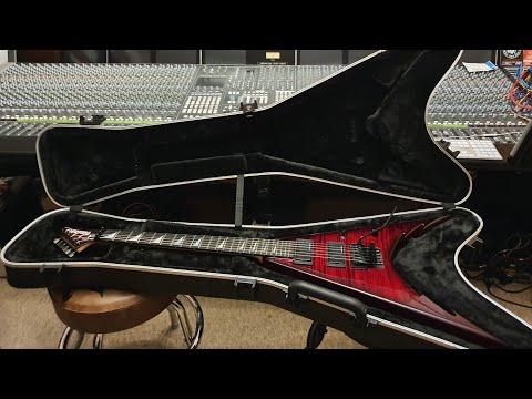 Jackson USA Corey Beaulieu King V Trivium Signature Guitar Up Close Video Review