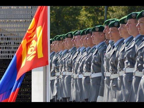 Militärische Ehren - Mongolischer Verteidigungsminister Nyamaa Enkhbold