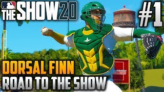 MLB The Show 20 Road to the Show | Dorsal Finn (Catcher) | EP1 | BEHIND THE DISH ONCE MORE...