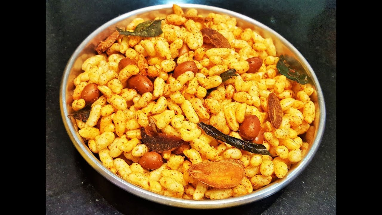 Download कोल्हापुरी भडंग    How to make Bhadang   MadhurasRecipe   Spicy Puffed Rice   Bhadang Recipe