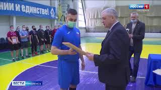 Смоленские полицейские разыграли кубок чемпионата по мини футболу