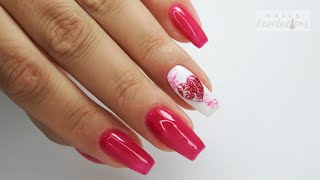 Valentines heart nails art tutorial / Colours by Molly
