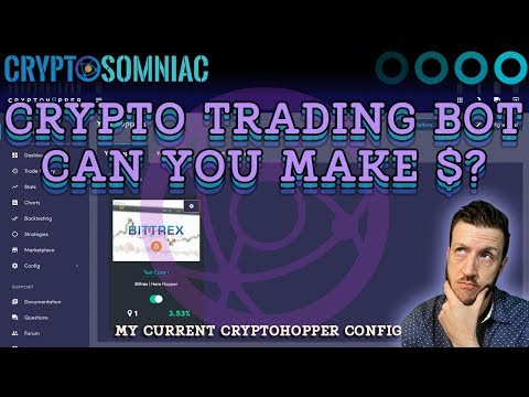 Crypto Trading Bots | Can You Make Money? | My Current Cryptohopper Config