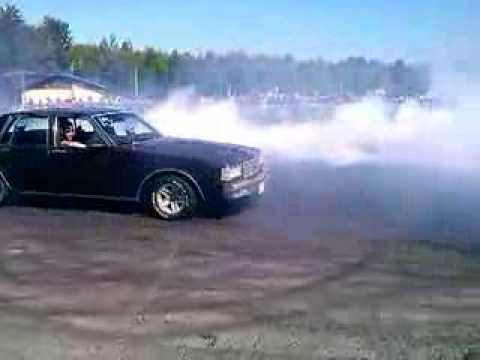 Crazy modified CHEVY Caprice burnout!! - YouTube