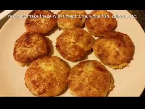 How to make fish cakes recipe youtube for How to make fish patties