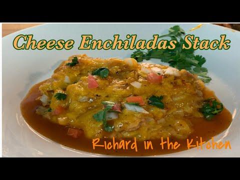 cheese enchilada stack