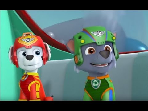 Paw Patrol - Pups Save the Gliding Turbots - Rocky is Assigned to Mission