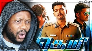Theri Official Trailer | 2K | Vijay, Samantha, Amy Jackson | Atlee | G.V.Prakash Kumar | REACTION!!!