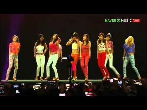 SNSD Dancing Queen @ Naver Concert  2013.01.05