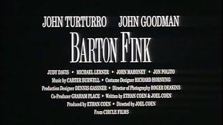 Barton Fink - Bande Annonce (VOST)