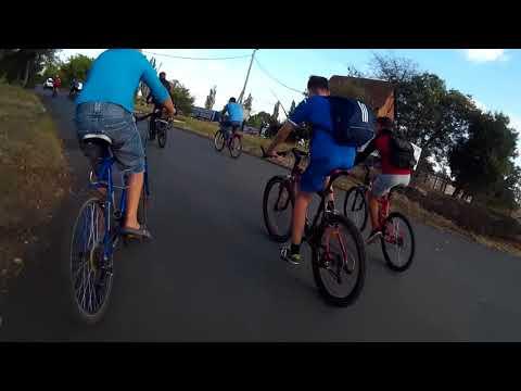 Первый любительский велопробег в Угледаре