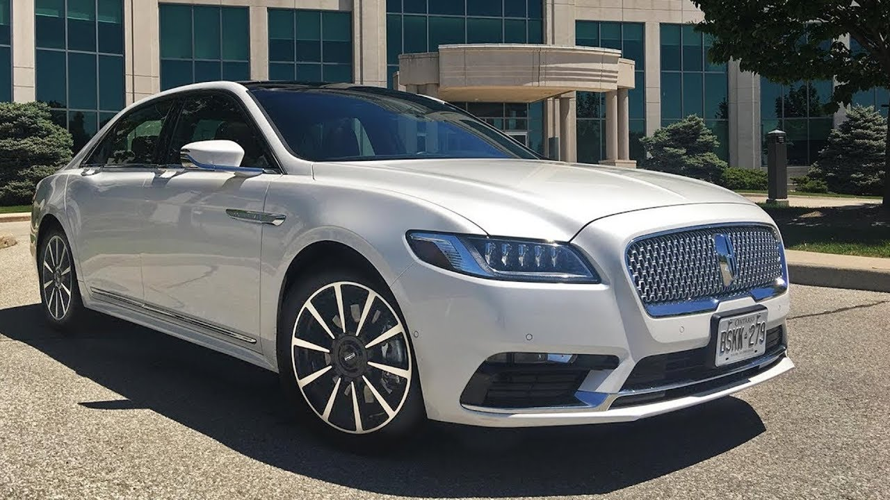 2018 Lincoln Continental Full Review Youtube