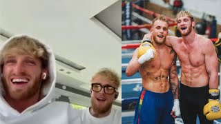 Logan And Jake Paul Discuss Who The Better Fighter Is Between Them