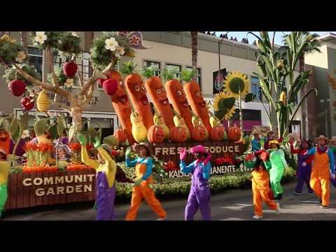 Desfile De Las Rosas Pasadena ,CA Enero 01 2018