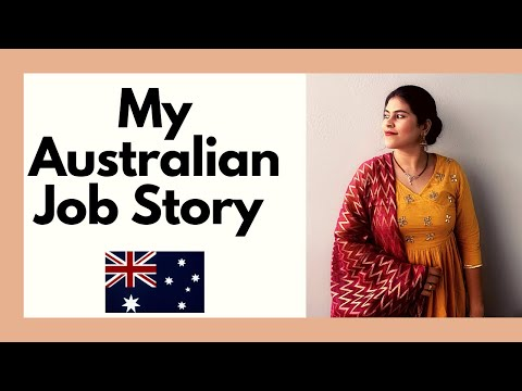 My Australian Job Story  How I Got My First Job In Australia  My Qualification   Indian In Australia