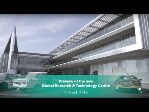 9 March 2018, the preview of the new Global Research & Technology Centre