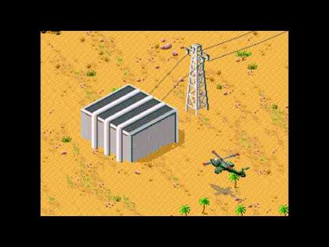 Let's Briefly Play Desert Strike - Decent Helicopter Game