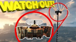 Sky Camper!! Hurricane Tower Glitch Review - Crossout Gameplay