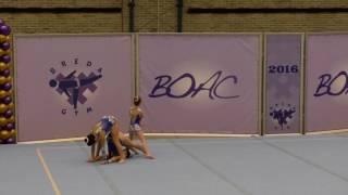 BOAC 2016   061   111   Women's Group   C Level   Balance   WAL   Saltney Gymnastics Club WAL, Sophi