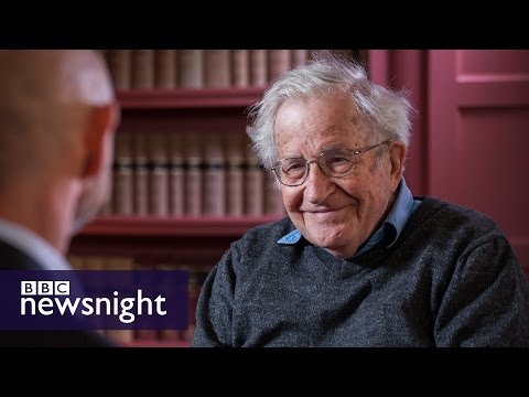 Noam Chomsky: I would vote for Jeremy Corbyn (EXTENDED INTERVIEW) - BBC Newsnight