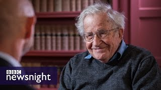 Noam Chomsky: I would vote for Jeremy Corbyn (EXTENDED INTERVIEW) - BBC Newsnight thumbnail