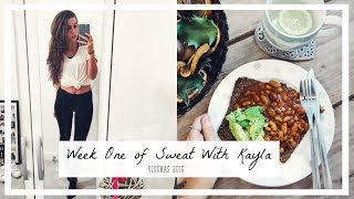 Week One of Sweat With Kayla: Vlogmas 2016 | coppergardenx
