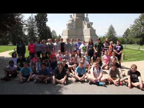Braddock Middle School's 2014 Gettysburg Address