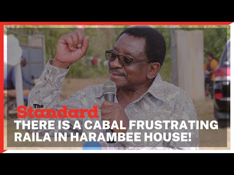 James Orengo, Otiende Amollo say there is a cabal of civil servants plotting Uhuru's succession