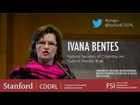 Ivana Bentes, National Secretary of Citizenship and Culture Diversity, Brazil