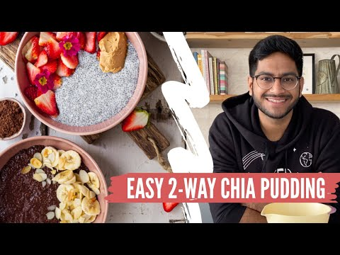chia-seed-pudding-recipe-2-way-|-easy-&-healthy-breakfast-ideas-|-chocolate-chia-seed-pudding-recipe