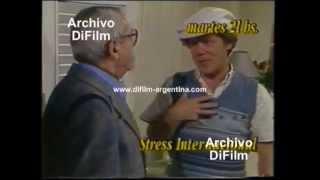 "DiFilm - Avance Programa ""Stress Internacional"" con Emilio Disi y Dorys del Valle (1990)"
