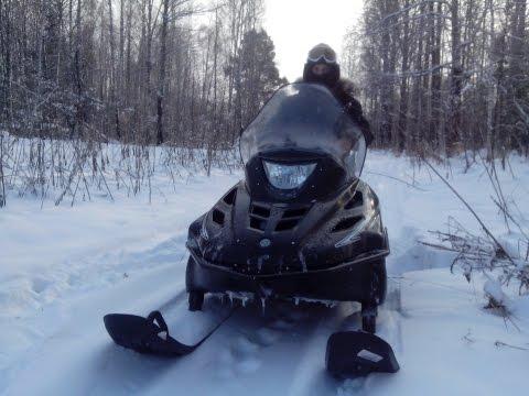 Снегоход Тайга Варяг 500 Обкатка 'кастрюли'