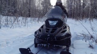 Снегоход Тайга Варяг 500 Обкатка